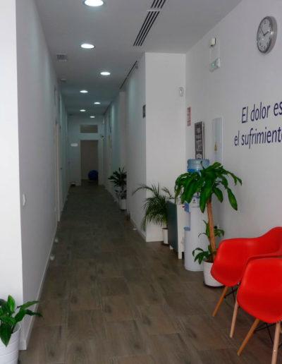 centro fisioterapia sevilla pasillo